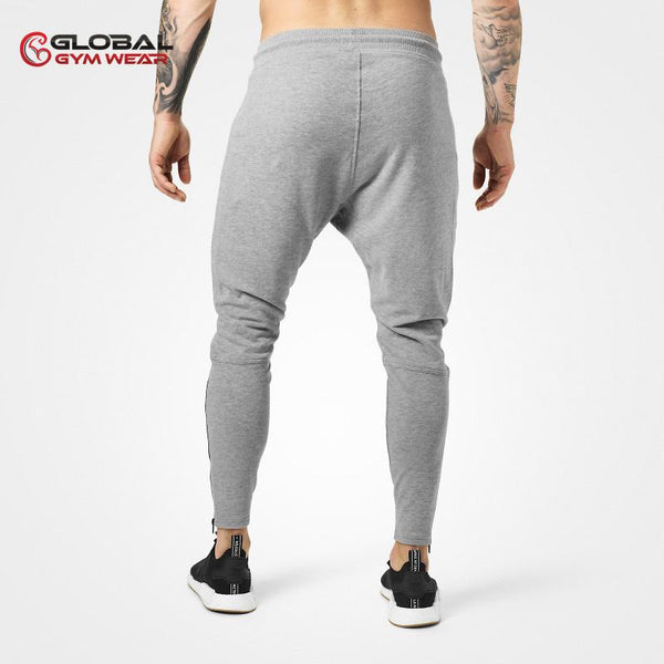 Better Bodies Harlem Zip Pants Grey back