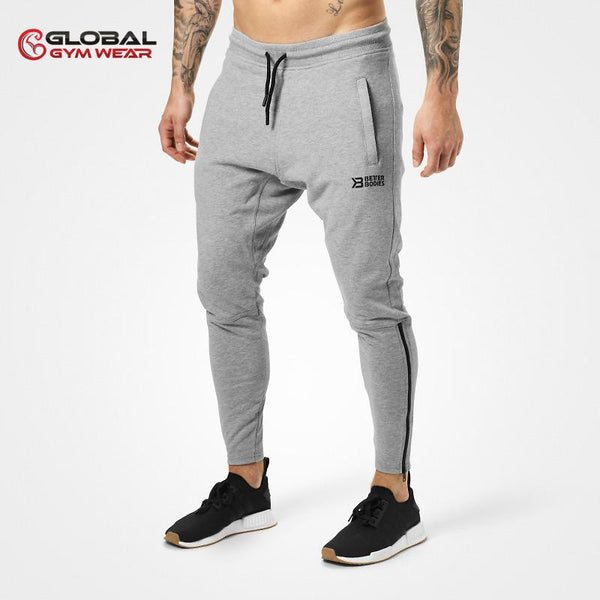 Better Bodies Harlem Zip Pants Grey