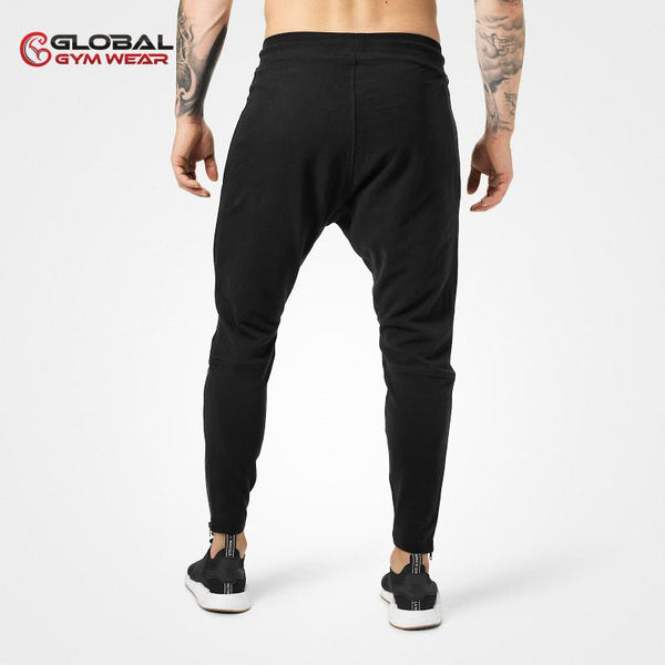 Better Bodies Harlem Zip Pants Black back