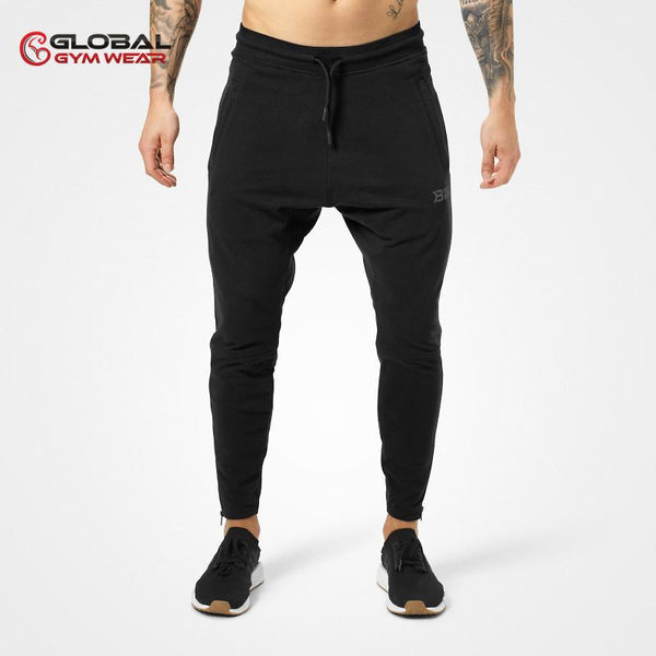 Better Bodies Harlem Zip Pants Black front