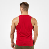 Better Bodies Brooklyn Tank bright red back