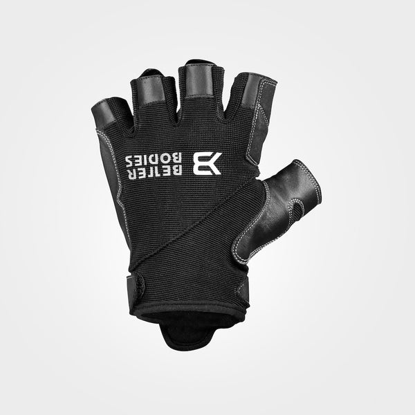 Better Bodies Pro Gym Gloves, Black/Black