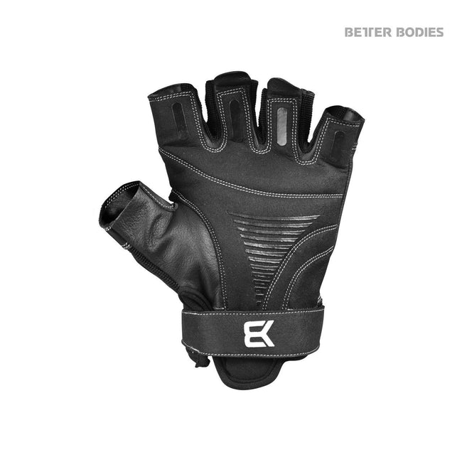 Better Bodies Pro Gym Gloves, Black, Palm