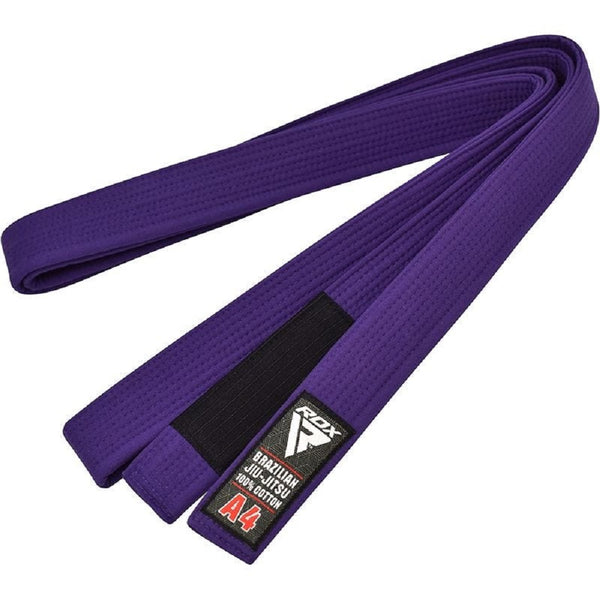 RDX Sports BRAZILIAN JIU-JITSU BELT PURPLE