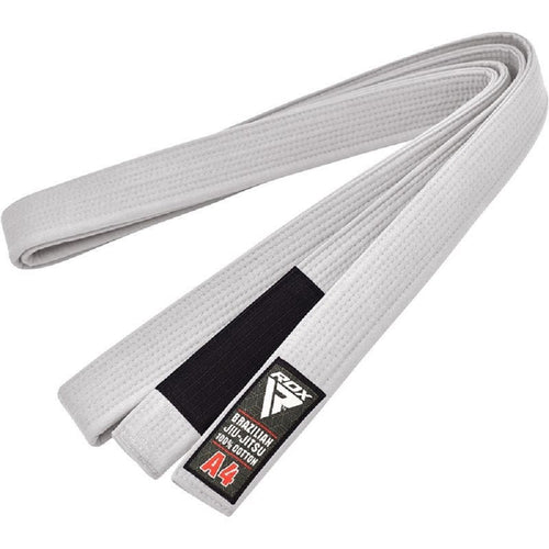 RDX Sports BRAZILIAN JIU-JITSU BELT WHITE