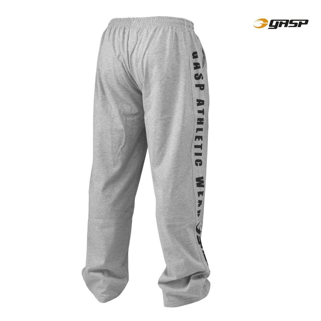 GASP Jersey Training Pants Grey Back