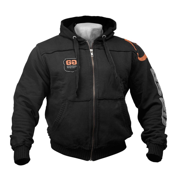 GASP Gym Hood Jacket Black
