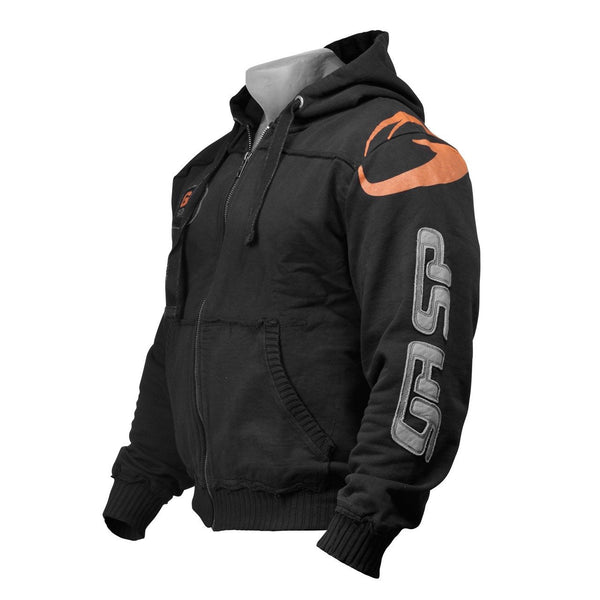 GASP Gym Hood Jacket Black Side