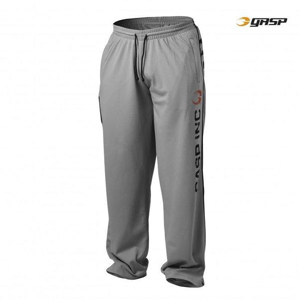 GASP No. 89 Mesh Pants Black light grey