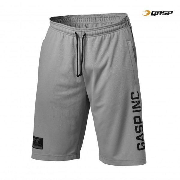 GASP 89 Mesh Shorts light grey