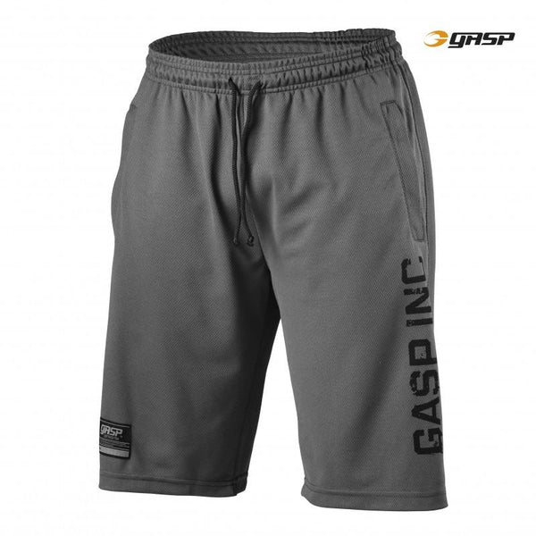 GASP 89 Mesh Shorts grey