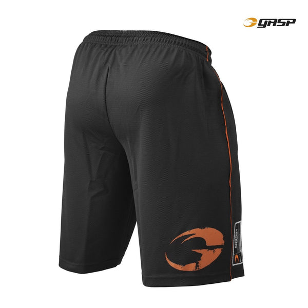 GASP Pro Mesh Shorts Black Back