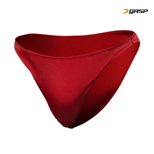 GASP European Pose Trunks Ruby Red