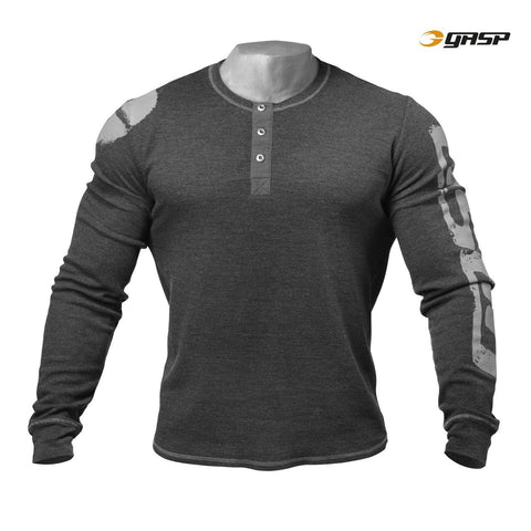 GASP Thermal Henley for £0.49 at Global Gym Wear