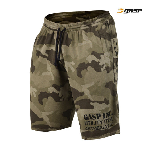 GASP Thermal Shorts Green Camo