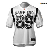 GASP Football Jersey Tee White