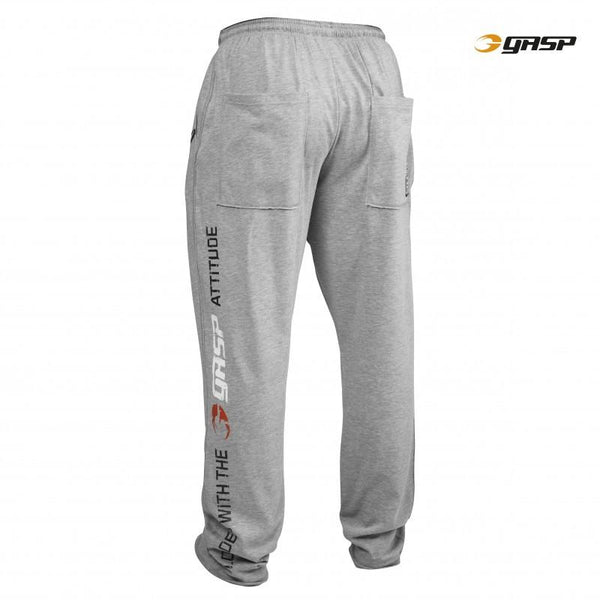 GASP No Compromise Pants Grey back
