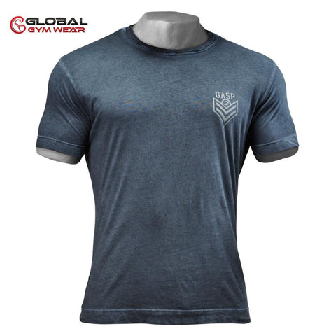 GASP Standard Issue Tee for £0.39 at Global Gym Wear