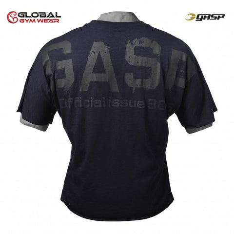 GASP The Sequel Tee Dark Navy back