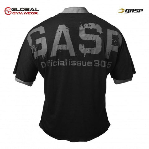 GASP The Sequel Tee Black back