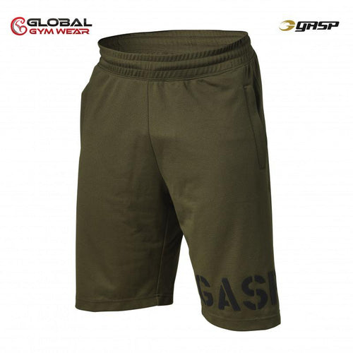 GASP Essential Mesh Shorts Military Olive