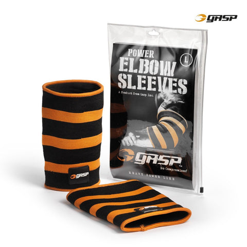 GASP Power Elbow Sleeves for £0.54 at Global Gym Wear