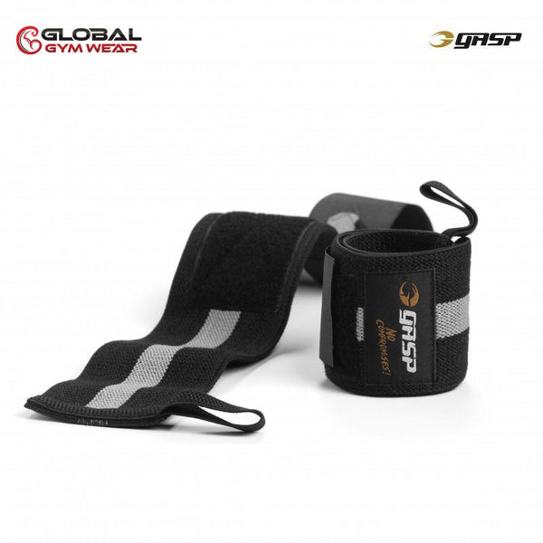 GASP 1RM Wrist Wraps Black/Grey