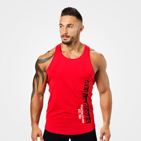 Better Bodies Performance T-Back, Bright Red