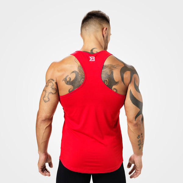 Better Bodies Performance T-Back, Bright Red back