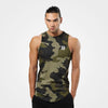 Better Bodies Harlem Tank, Military Camo