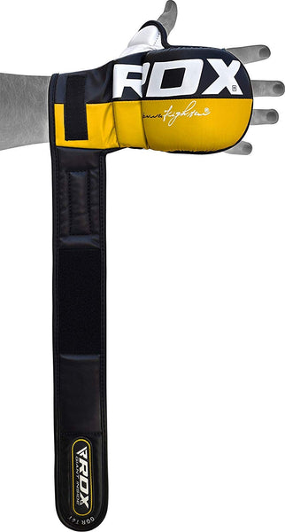 RDX Sports GRAPPLING GLOVE REX YELLOW T6