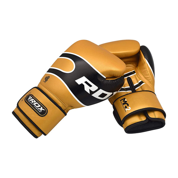 RDX Sports BOXING GLOVES PRO S7 GOLDEN