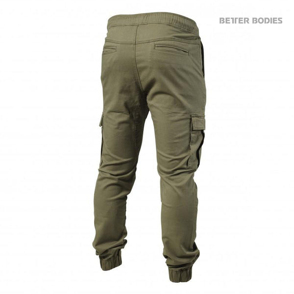 Better Bodies Alpha Street Pants Wash Green back