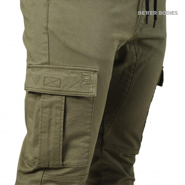 Better Bodies Alpha Street Pants Wash Green detial