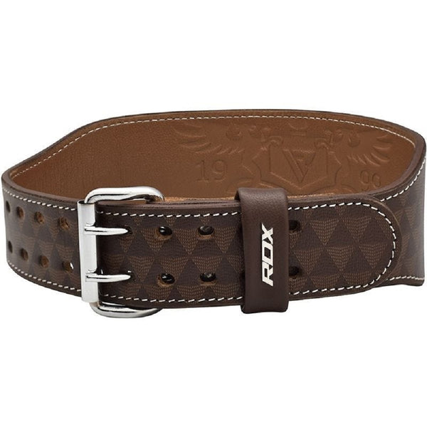 "RDX Sports WEIGHT LIFTING BELT 4"" ARLO TAN"