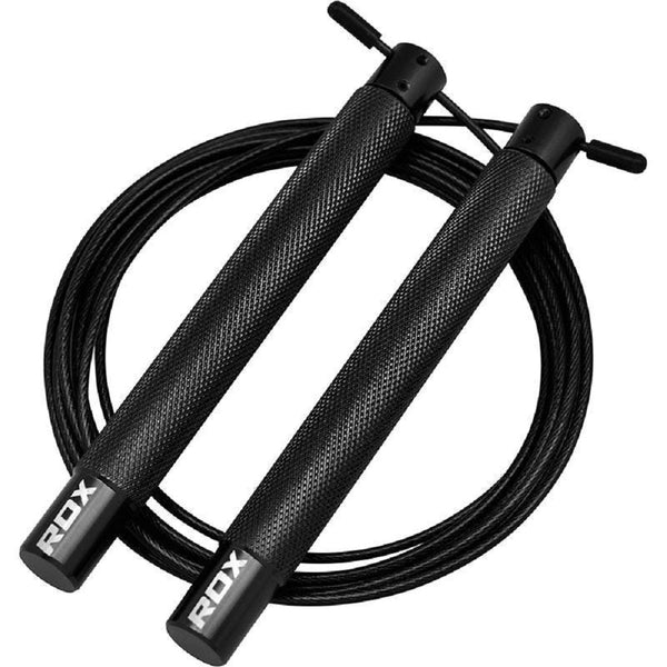 RDX Sports SKIPPING ROPE IRON SRI-C4 BLACK