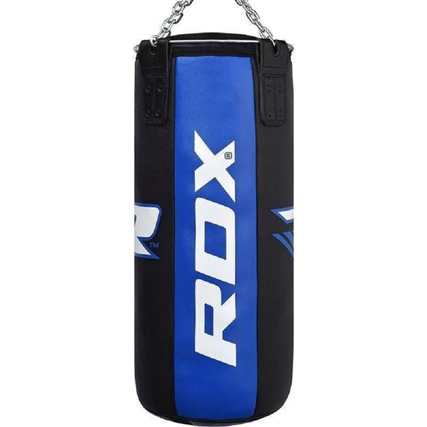RDX Sports PUNCH BAG BLACK/BLUE-3FT