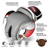 RDX Sports GRAPPLING GLOVE TGX-01 WHITE/BLACK