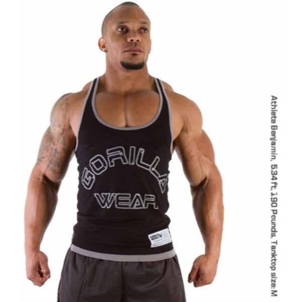 Gorilla Wear Logo Stringer Tank Top