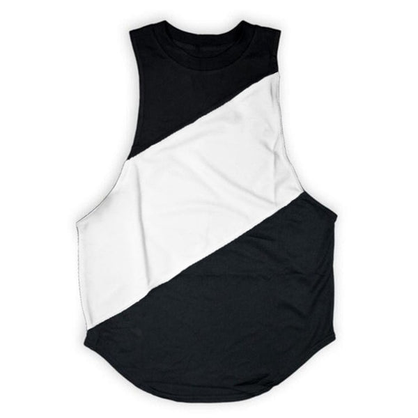 James Sleeveless Drop Armhole T-Shirt