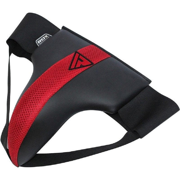 RDX Sports GROIN GUARD MESH RED