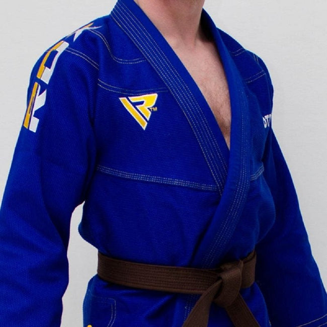 RDX Sports BRAZILIAN JIU-JITSU SUIT BLUE