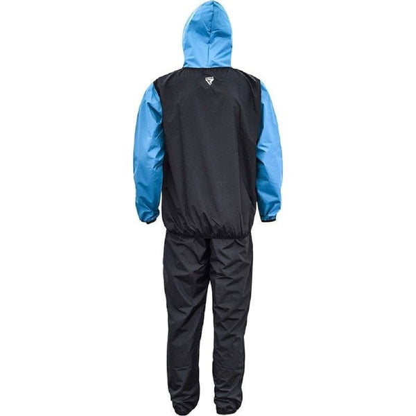 RDX Sports CLOTHING SAUNA SUIT S6 BLACK/BLUE