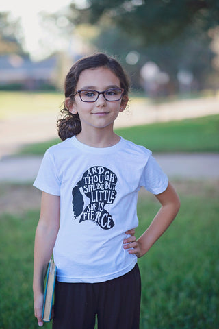 Though She Be But Little Toddler T-shirt