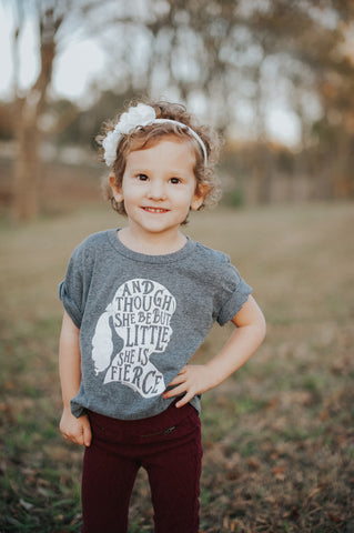 She is Little But Fierce T-shirt