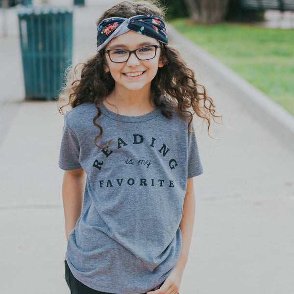 Reading is My Favorite Youth T-shirt