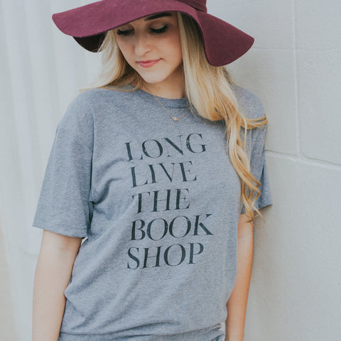 Long Live the Book Shop T-shirt