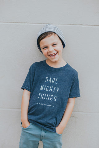Dare Mighty Things Youth T-shirt