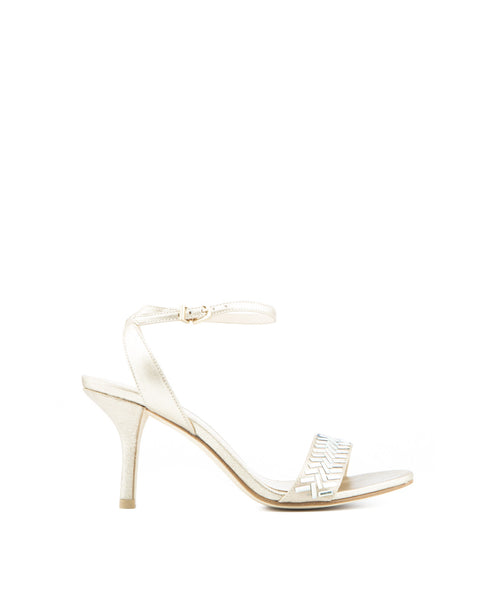 46987 Ines Silk High Heel Sandal