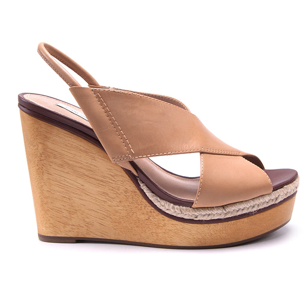 Gladys Crisscross Wedge by Diane Von Furstenberg